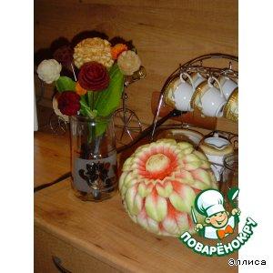 Рецепт Овощные букеты и композиции-1