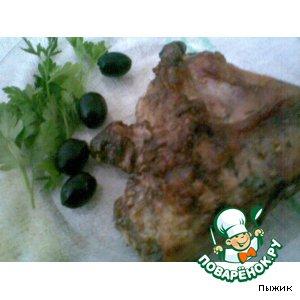 Рецепт Запеченный белый амур с тимьяном