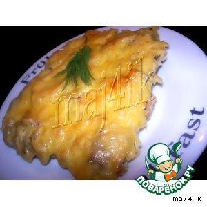 Рецепт Вкусное мяско из духовки или мой вариант мяса по-французски