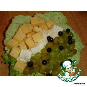 Рецепт Праздничный вариант подачи сыра