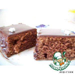 """Рецепт Кекс """"Шоколадная жизнь"""""""