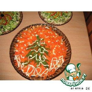 Рецепт Красно-рыбный салатик