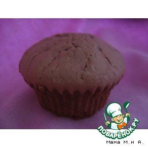 Рецепт Кексы с шоколадом и кофейным ликером
