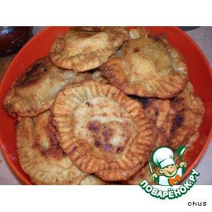 Рецепт Пирожки-чебуреки с мясом и сыром