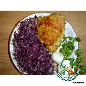 краснокочанная капуста салат