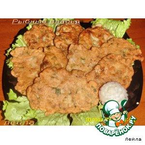 Рыбные оладьи вкусный рецепт с фото пошагово как приготовить