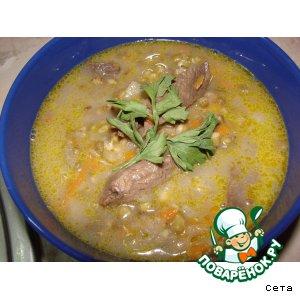 Рецепт Суп из маша с бараниной