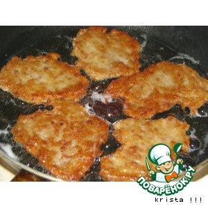 Рецепт Драники с мясом