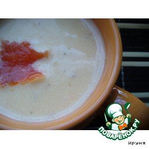 Рецепт Суп-пюре из форели