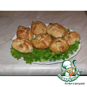 Пьяная печень в мешочках домашний пошаговый рецепт приготовления с фото