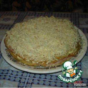 """Рецепт Закусочный пирог  """"Магги"""""""