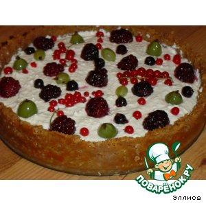 Рецепт Чизкейк с летними ягодами