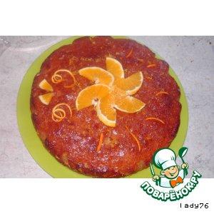 Рецепт Апельсиновый кекс в сиропе