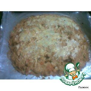 Рецепт Морковно-творожная запеканка с грибами и капустой