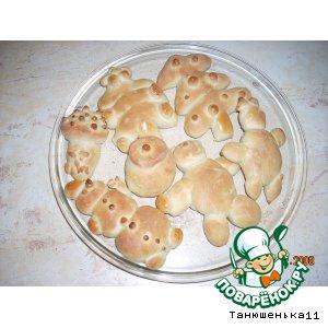 Рецепт Весeлый хлебушек