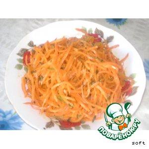 Рецепт Морковча