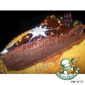 Рецепт Шоколадно-банановый тортик