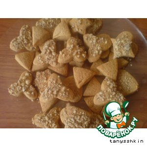 Рецепт Имбирные печенюшечки