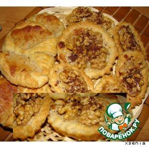 Рецепт Вертушки и корзиночки с грецкими орехами