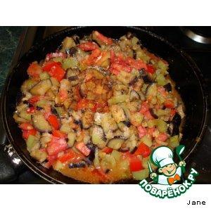 Рецепт Замороженные овощи