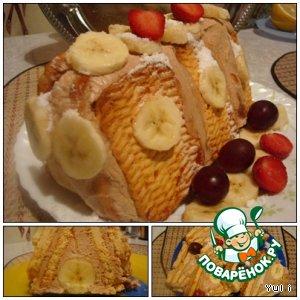 "Рецепт Торт ""Домик для банана"""