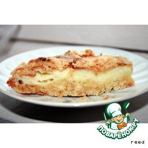 Рецепт Пирог-пирожное с творогом