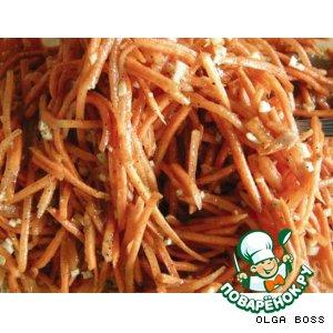 Рецепт Острая морковка