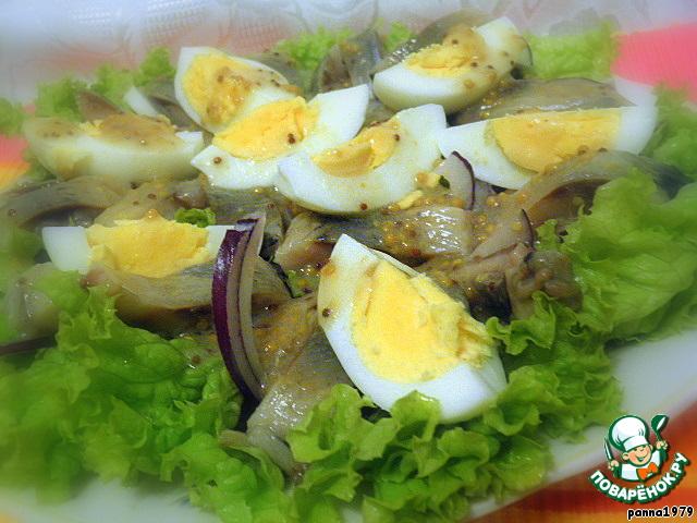 Простые рыбные салаты  55 рецептов с фото пошагово