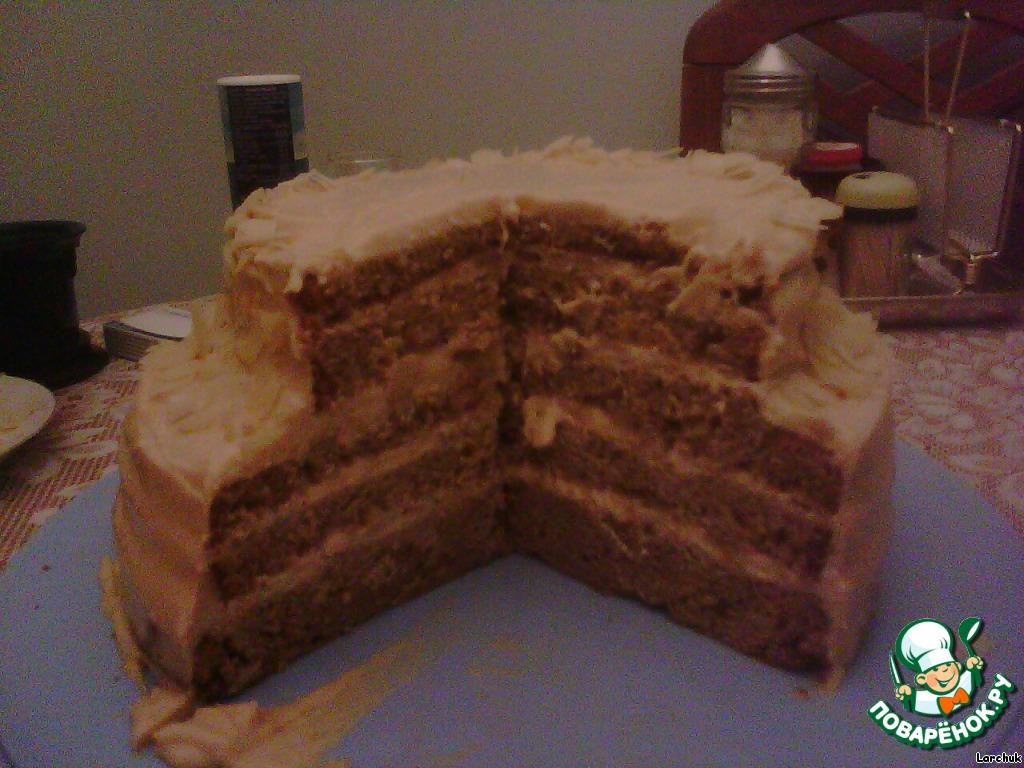 Торт золотой ключик рецепт по госту