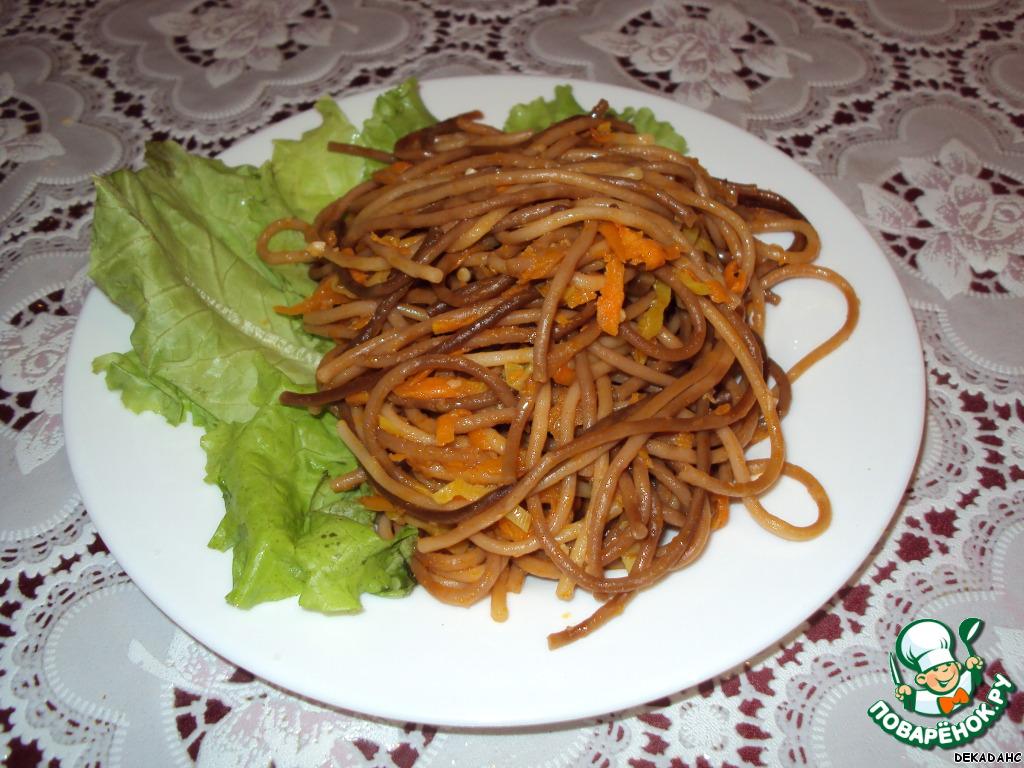 Жареные макароны рецепты с фото