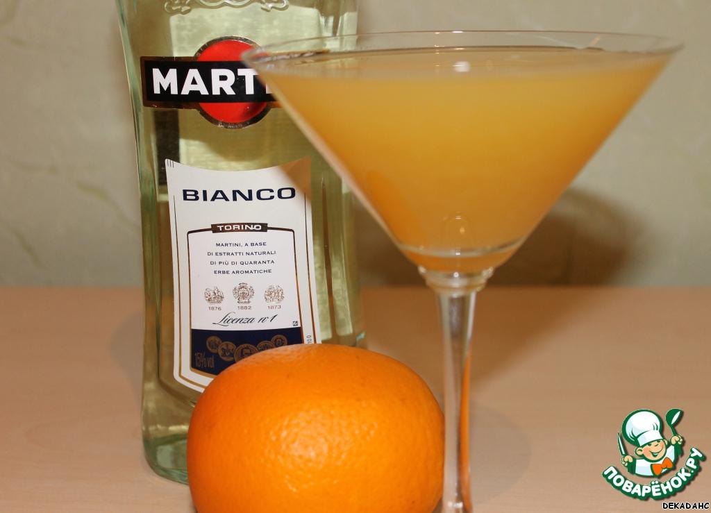 Рецепты коктейлей мартини бьянко