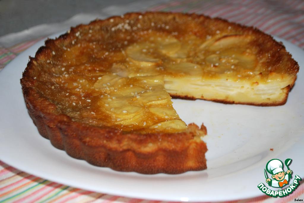 Нежный яблочный пирог рецепт с фото
