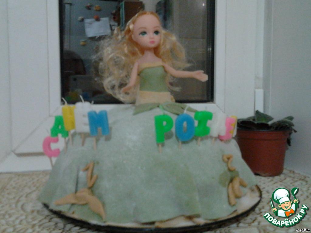 Детский торт кукла своими руками фото 74