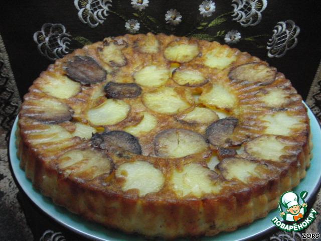 Пирог черепаха в мультиварке рецепты с фото