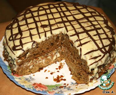 Торт арабская ночь рецепт с фото пошагово