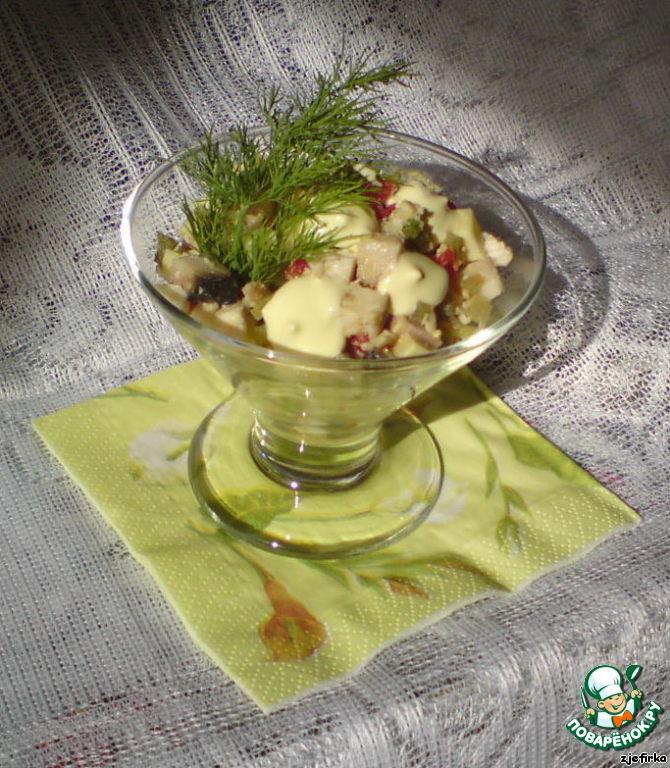 Фруктовый салат обычный рецепт