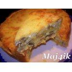Картофельно-грибной киш-пирог