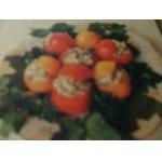 Помидоры фаршированные грибами