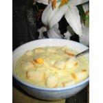 Луковый суп со сметаной