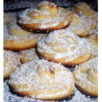 Творожное печенье с апельсиновым ароматом