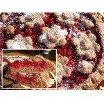 Цветочный пирог из полбяной муки