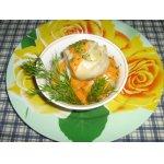 Манты с картофелем и соевым фаршем
