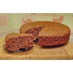 Постный шоколадно-вишневый пирог