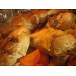 Курица в маринаде из кефира и кориандра