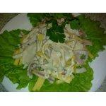 Салат из кальмаров «По-дальневосточному»