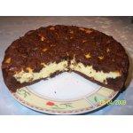 Щипаный творожный пирог