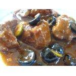 Мясное   рагу   с   грибами   и   орехами