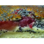 Фруктовый пирог с маком