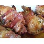 Куриные   голени   с   розмарином,   запеченные   в    беконе