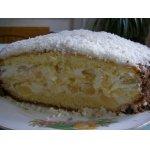 Бисквитный тортик с ананасами